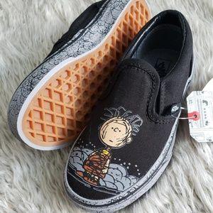 VANS Peanuts Edition Linus Slide On Shoe